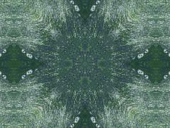 abstract kaleidoscope background - stock illustration