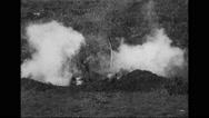 Military soldiers firing machine guns Stock Footage