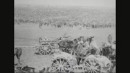 Military soldiers on battlefield Stock Footage