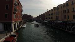 Venice italy timelapse tio dei tolentini Stock Footage