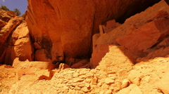 4K Mesa Verde 09 Cliff Palace Native American Ruins Colorado Stock Footage