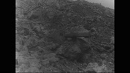 View of no man's land Stock Footage