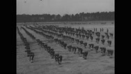 Military practising at Camp Wheeler Stock Footage