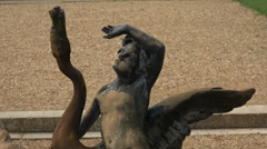 Sculpture, osborne house and garden, cowes, isle of wight, england Stock Footage