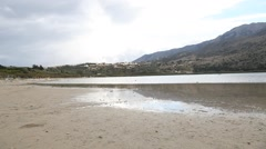 Kournas lake Stock Footage