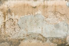 Decayed concrete wall Stock Photos