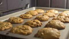 Stock Video Footage of Cookies Baking in 4k