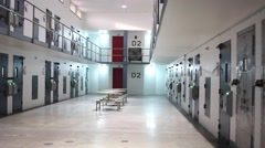 Cell Block 02 Stock Footage