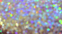 Colored Light Bokeh Background - stock footage