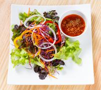 Italian tuna salad Stock Photos