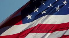 USA Flag - stock footage
