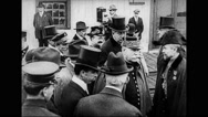 City officials greeting Marshal Joseph Joffre at Battery Park Stock Footage