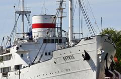 research vessel vityaz. kaliningrad, russia - stock photo