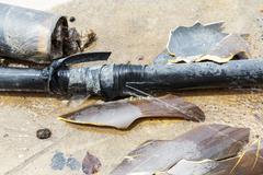 plumbing leaks - stock photo