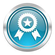 Award icon, prize sign. Stock Illustration