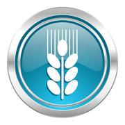 Stock Illustration of grain icon.