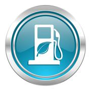 Biofuel icon. Stock Illustration