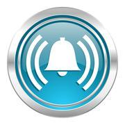 Alarm icon, alert sign Stock Illustration