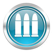 Ammunition icon. Stock Illustration