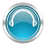 headphones icon. - stock illustration
