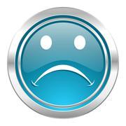 cry icon. - stock illustration