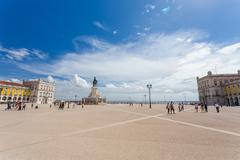 Stock Photo of commerce square in lisbon,portugal