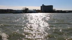 Lake Erie Sunshine Stock Footage