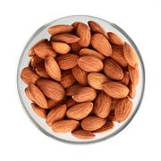 almonds nuts - stock photo
