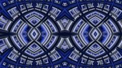 Continuous Fractal Loop: Owl Eyes Stock Footage