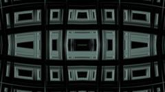 Continuous Fractal Loop: Skyscraper Portal Stock Footage