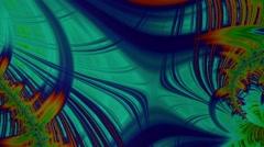Fractal Loop: Gold Weaving Stock Footage