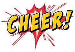 Cheer icon Stock Illustration