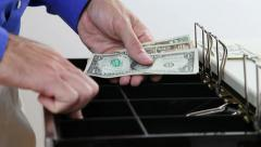 Stock Video Footage of Cash Register