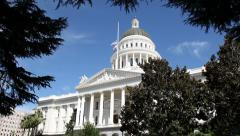 California State Capital Building Stock Footage