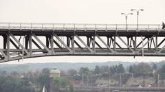 Bridge landscape Stock Footage