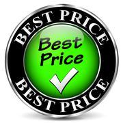 Best price icon Stock Illustration