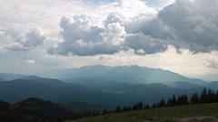 Bucegi mountains Stock Footage
