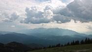 Stock Video Footage of Bucegi mountains