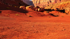 4K Vermilion Cliffs 02 Tilt Up Arizona USA Stock Footage