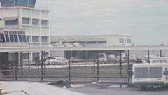 USA 1969: small airport operations Stock Footage