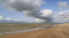 Dunes in De Haan, Belgium, clip7 Stock Footage