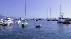 Italian Port Stock Footage