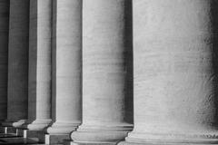 Pillars at the vatican Stock Photos
