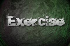 exercise concept - stock illustration