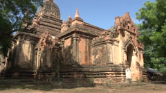 Pagoda in Bagan Stock Footage