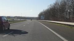 Stock Video Footage of Autobahn NL2