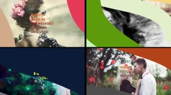Stylish Slideshow/Color Transitions Stock After Effects