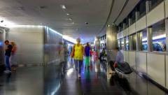 4K TimeLapse - Dubai metro Stock Footage