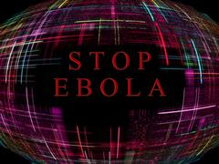 ebola virus epidemic concept.digitally generated image. - stock illustration