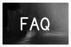 FAQ concept Stock Photos
